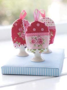mini egg cosies