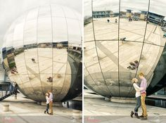 Particularly love the photos with the globe in.