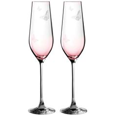Miranda Kerr For Royal Albert Friendship Set Of 2 Champagne Flutes (€33) ❤ liked on Polyvore featuring home, kitchen & dining, drinkware, pink, etched champagne flutes, royal albert, glass champagne flutes, glass drinkware and set of 2 champagne flutes