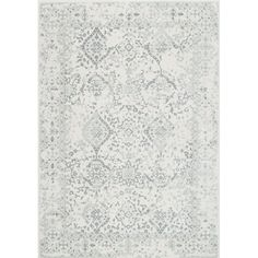 The faded traditional Persian pattern on this nuLOOM Vintage Odell Indoor Area Rug creates a stylish foundation for any room. This area rug is available. White Rug, White Area Rug, Blue Area, Grey Rugs, Beige Area Rugs, Modern Area Rugs, Ivory Rugs, Laurel, Polypropylene Rugs