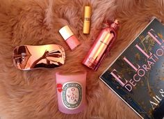 La vie en rose - beauty products from Diptyque, Ikoo Brush, Uslu Airlines, Lipstick Queen and Montale Parfums