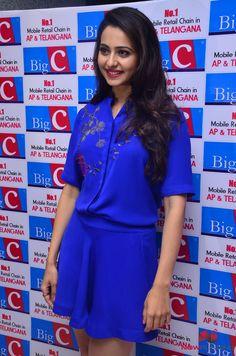 Rakul Preet Singh at Big C Promotional Event