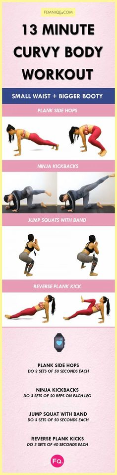 13 Min Curvy Body Workout   Posted By: AdvancedWeightLossTips.com