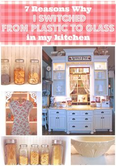 Sugar Pie Farmhouse » Blog Archive 7 Reasons Why I switched From Plastic to Glass in My Kitchen | Sugar Pie Farmhouse