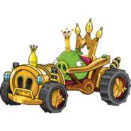 King Pig with his Royal Rumbler