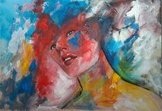"""Els Driesen, """"kiss me"""" Mit einem Klick auf 'Als Kunstkarte versenden' versenden Sie kostenlos dieses Werk Ihren Freunden und Bekannten."""