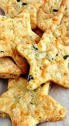 Parmesan Cheddar Basil Bites