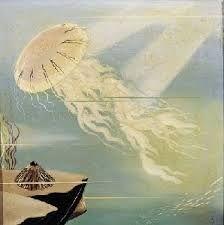 urbano lugris pinturas Medusa, Window Company, Max Ernst, Rene Magritte, Surrealism Painting, Famous Artists, Jellyfish, Surrealism, Contemporary Paintings