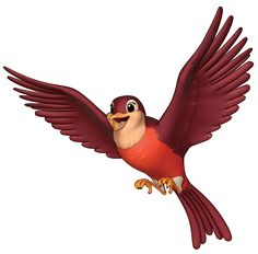 Robin is a sentient robin and a minor character in the Disney Junior series Sofia the First. Princess Sofia Birthday, Princess Sofia The First, Sofia The First Birthday Party, Princess Party, 2nd Birthday, Sofia The First Cartoon, Sofia The First Characters, Mini Gifs, Sofia Cake