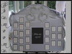 Plan de table (mariage).