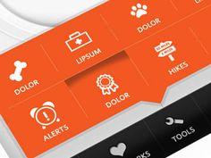 Pop-up menu UI on iPhone App