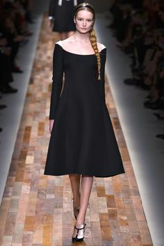 Off the shoulder LBD. Valentino Fall 2013 RTW.