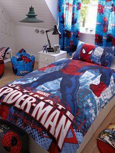 City Duvet Cover & Pillowcase Set http://www.very.co.uk/spiderman-city-duvet-cover-pillowcase-set/1267831652.prd