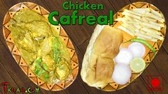 Chicken Cafreal – चिकन कफ्रील Cafreal is a spicy chicken preparation consumed widely in the Indian state of Goa. The preparation originated from the Portuguese colonies in the African contine…