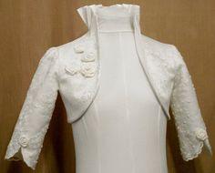 Custom Made Lace Bolero. $90.00, via Etsy.