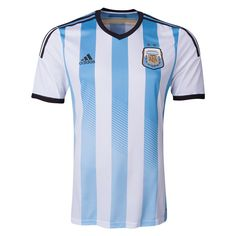 8c5e45421 Top Thai quality 2014 brazil cup argentina home soccer jersey camiseta original  argentina home free and fast shipping