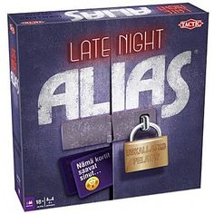 Buy Late Night Alias Game today at IWOOT. Sand Timers, Player Card, Different Words, Games Today, Game Pieces, Late Nights, Nye, Brand Names, Growing Up