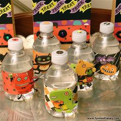 What an awesome idea! I think I will do this for our upcoming kids Halloween party!! #spottedcanarycontest