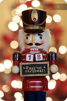 Started a Nutcracker Collection this year. My new favorite Christmas decoration. ;)