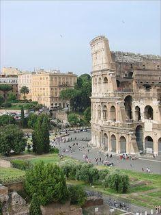 The Colliseum, Rome, Italy