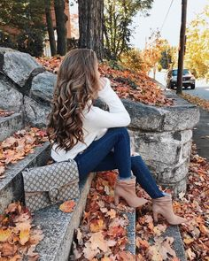 The cutest fall fashion 2018 outfits from fashion influencers . - fashion outfits - The cutest fall fashion 2018 outfits from fashion influencers # # – Cute Fall Fashion, Autumn Fashion 2018, Fall Fashion Trends, Winter Trends, Current Fashion Trends, Autumn Photography, Girl Photography Poses, Street Look, Minimalist Outfit