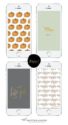 Free iPhone wallpaper for Fall