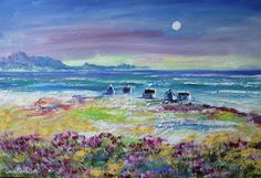 MOON COTTAGES: (oil on stretched canvas: x x in the Paintings category was sold for on 4 Sep at by Louis Pretorius in Cape Town Old Master, Kinds Of Music, Oil Painting On Canvas, Impressionism, Creative Art, Floral Arrangements, Landscapes, Workshop, Cottage