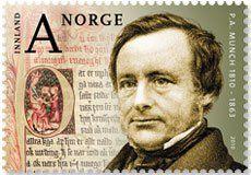 Peter Andreas Munch: http://d-b-z.de/web/2013/05/25/geschichte-des-norwegischen-volkes-briefmarken/