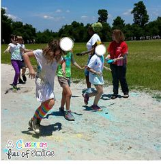 A Classroom Full of Smiles: How To Host a School Color Run Fundraiser