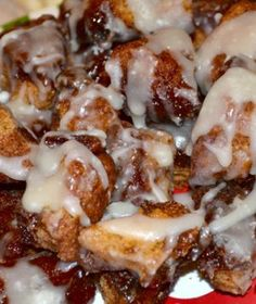 Crock Pot Monkey Bread.
