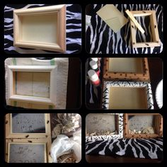 Create a vacation shadow box!