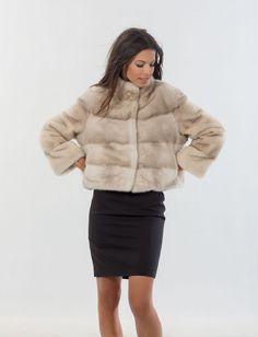 Saga Superior Mink Fur Jacket Class of Fox Chinhilla Lynx Sable | eBay