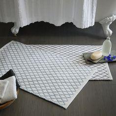 Farmhouse bathroom rugs creative modern bath rugs bathroom rugs you can look small bath mat sets Bamboo Bathroom, Bathroom Rugs, Bath Rugs, Small Bathroom, Bathrooms, Modern Bathroom, Bathroom Ideas, Contemporary Bath Mats, Pottery Barn Bath