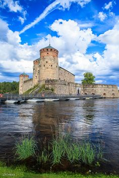 Savonlinna by Maksim Belyshev on 500px, Castle Olavinlinna (Swedish Olofsborg; literally St. Olaf Castle, see Olaf II Santo) is a castle with three towers built in the fifteenth century and now in the city of Savonlinna, Finland