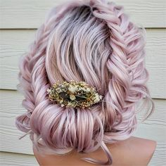 Announcing the Braids and Brides Top 10 SemiFinalists - Awards & Contests - Modern Salon Chic Hairstyles, Pretty Hairstyles, Braided Hairstyles, Stylish Hair, Gorgeous Hair, Beautiful Buns, Hair Art, Hair Today, Pink Hair