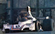 José Carlos Pace, Brabham BT44B - Monaco, 1975.