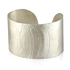 Wafer Cuff; Handmade Modern Jewelry by Ayesha Mayadas