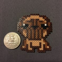 Pug Perler Beads A personal favorite from my Etsy shop https://www.etsy.com/listing/275668880/pug