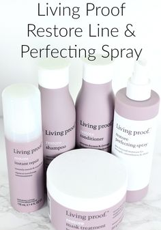Living Proof Restore Perfecting Spray Launch and Campaign Makeup And Beauty Blog, Beauty Hacks, Beauty Tips, Curly Hair Braids, Healthy Hair Tips, Platinum Blonde Hair, High End Makeup, Living Proof