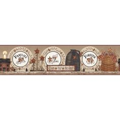 """You'll love the Welcome Home Families are Forever 15' x 9"""" Scenic Border Wallpaper at Wayfair - Great Deals on all Décor  products with Free Shipping on most stuff, even the big stuff."""