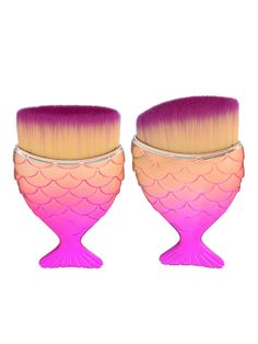 Shop Ombre Chunky Makeup Brush 2pcs online. SheIn offers Ombre Chunky Makeup Brush 2pcs & more to fit your fashionable needs.