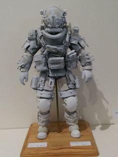 Facebook 3d Character, Character Concept, Concept Art, Character Design, Combat Armor, Future Soldier, Vinyl Toys, Designer Toys, Sci Fi Art
