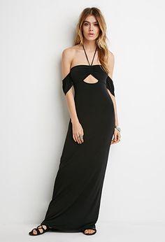 Off-the-Shoulder Maxi Dress | Forever 21 - 2000155082