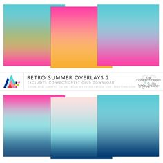 Retro Summer Overlays 2 ·CU· {EXCLUSIVE}