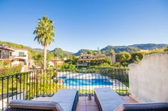 Casa Sonnet in Puigpunyent with gorgeous mountain vista