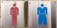 #Japanese style restroom Signs #lol