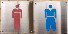 お手洗いの看板 京都風 Japanese style restroom Signs