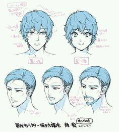 Manga Drawing Tips Anime Male Face, Male Face Drawing, Male Manga, Guy Drawing, Drawing Base, Drawing People, Figure Drawing, Manga Anime, Anatomy Drawing