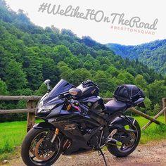 Road trip!  #WeLikeItOnTheRoad #BerTTonSquad #iggers #InstaPorn #motolife #travelgram #BerTTon #mountainroad
