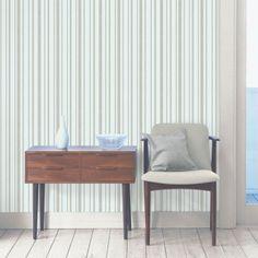 Fine Decor Tuscany Stripe Wallpaper Mint / Silver - Fine Decor from I love wallpaper UK